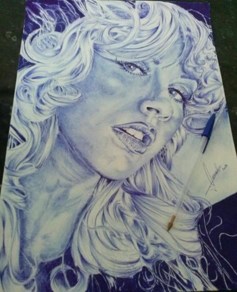 Christina Aguilera by pabload